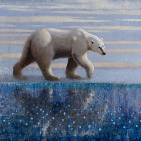 ewoud-de-groot-wildlife-art-artist-animals-birds-oil-painting-canvas-linen-polar-bear-1